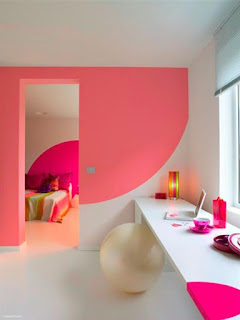 Spruce up Your Interiors with Bold Neon Colors on Walls