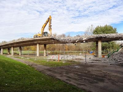 Remont mostu Grota-Roweckiego