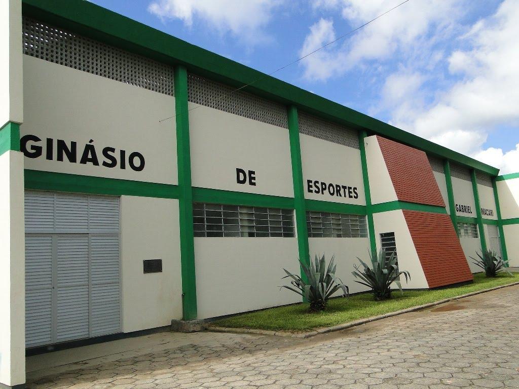 Blog do Marlon L: Ginásio de esportes de Santana será inaugurado  #2555A6 1024x768 Banheiro Adaptado Deficiente Fisico