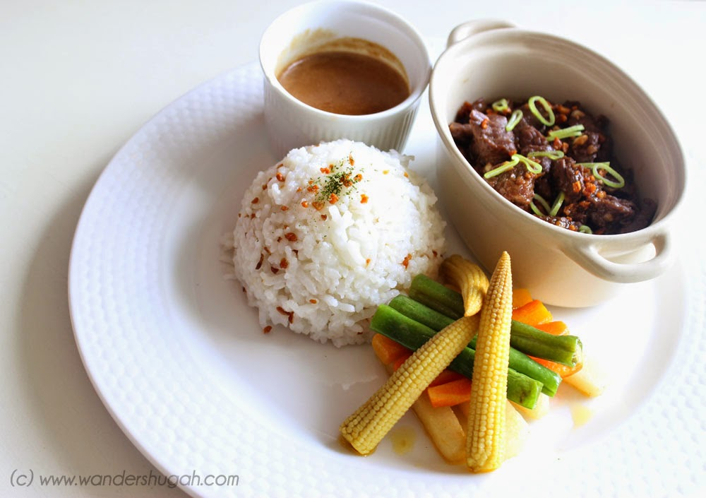 Beef Salpicao of Sab Bistro, Angeles City, Pampanga
