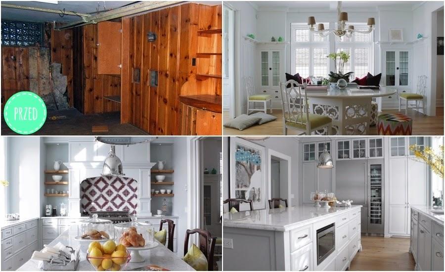 wnętrza, metamorfoza, przed, po, kuchnia, jadalnia, biała kuchnia, białe wnętrza