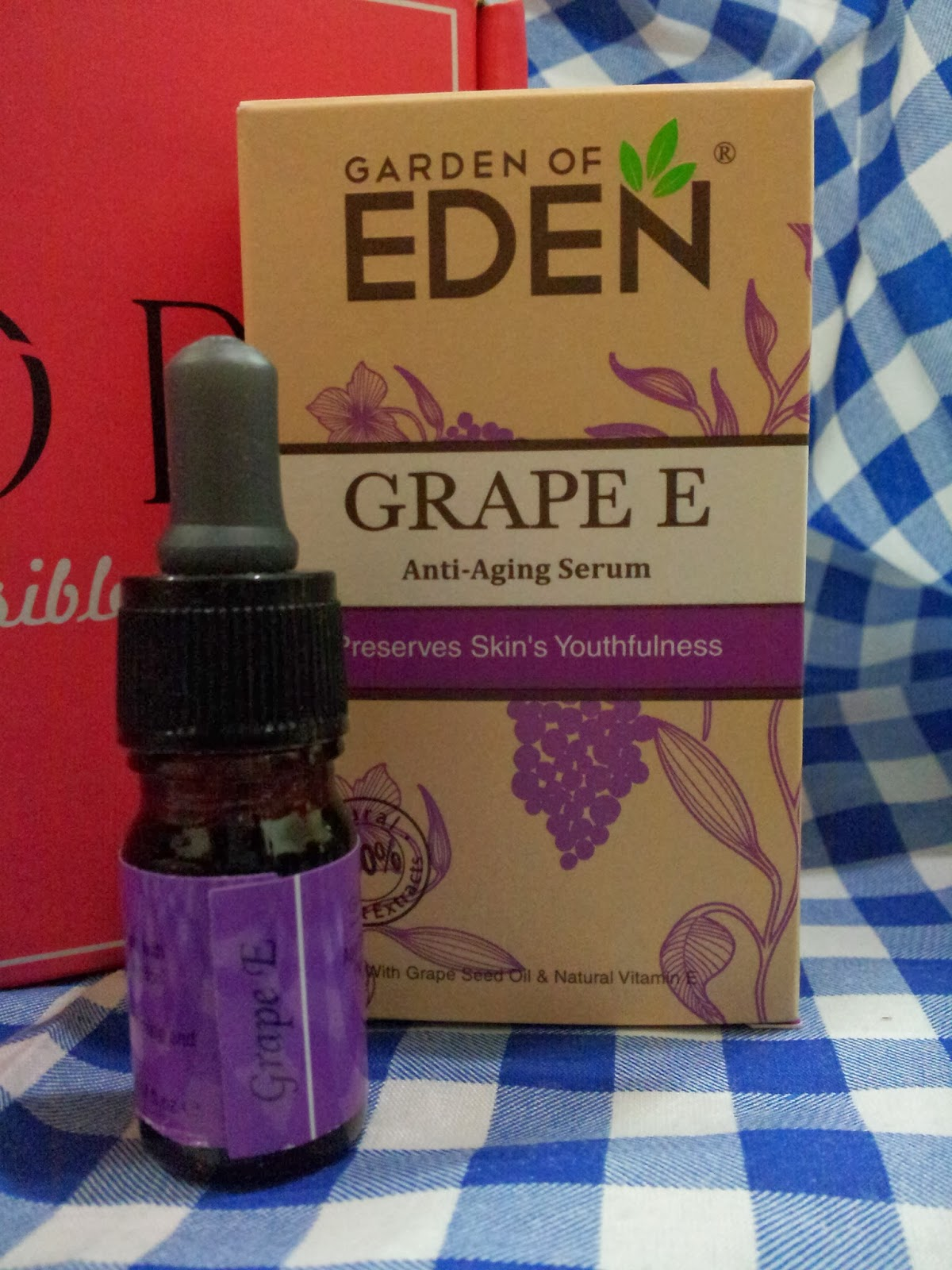 Princess Neverland: Garden Of Eden Grape E Anti Aging Serum