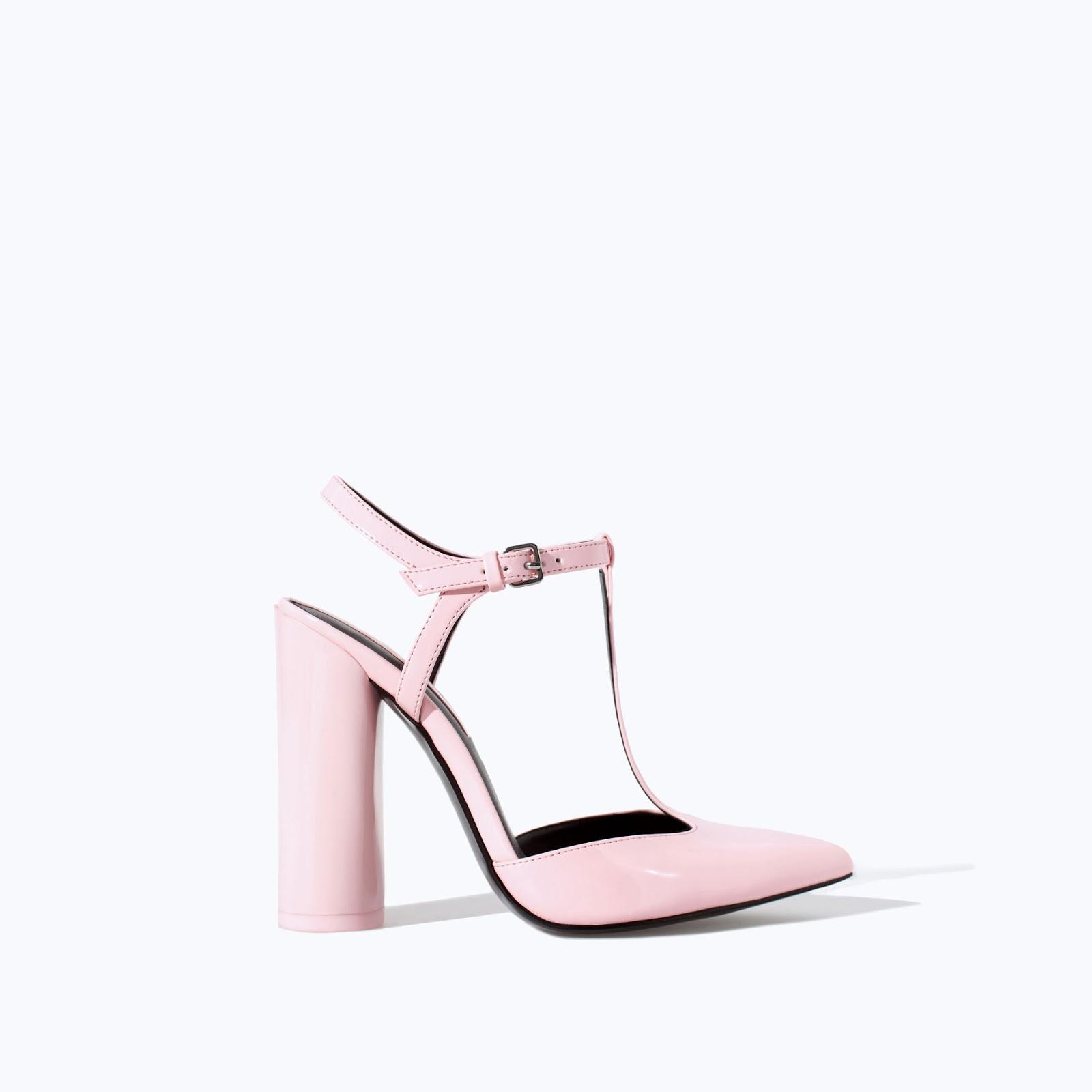 Zapatos rosas Zara