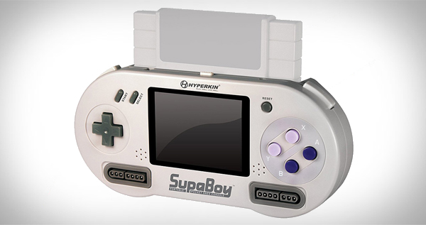 SUPABOY (SNES) SUPER NINTENDO HANDHELD NTSC GAMES + SFC GAMES ONLY