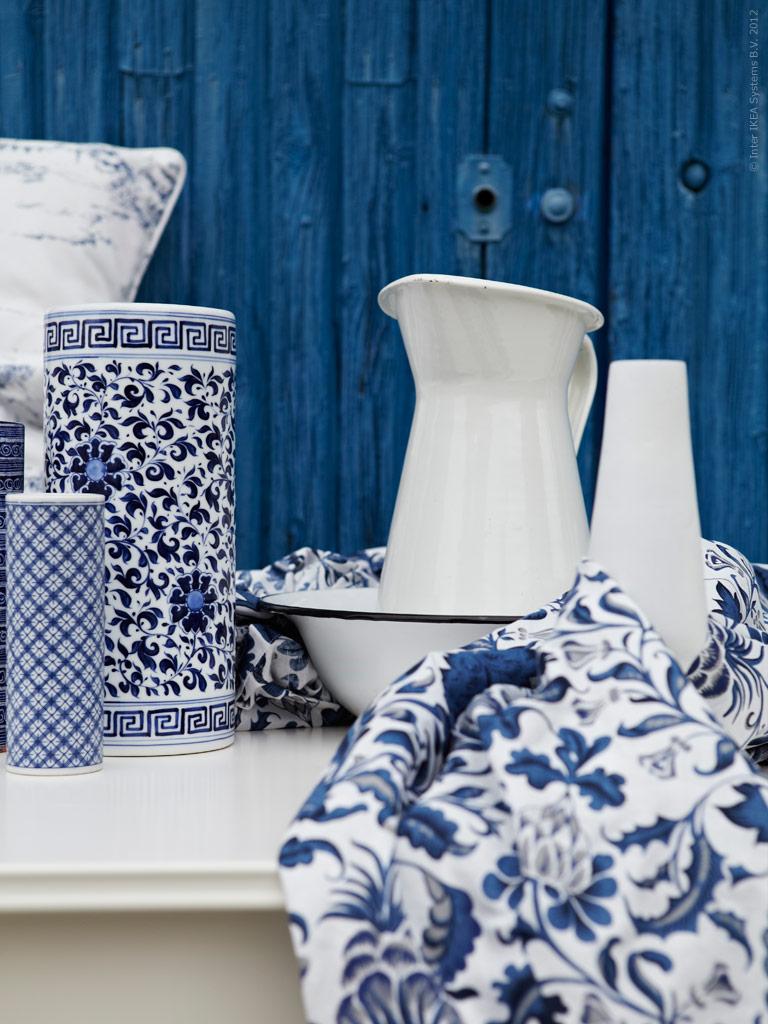 vikesk rs inredning och ting bl tt och vitt. Black Bedroom Furniture Sets. Home Design Ideas