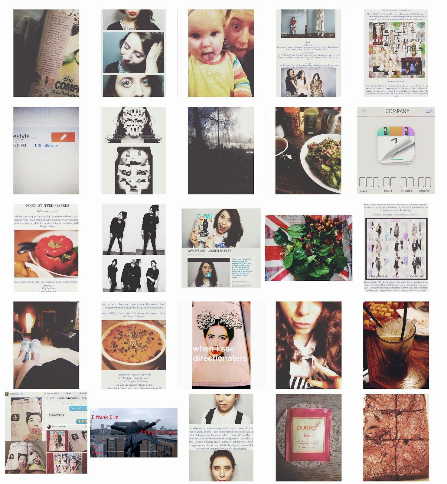 MONTHLIES : INSTAGRAM
