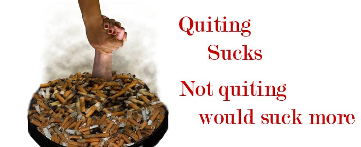 Today I quit smoking