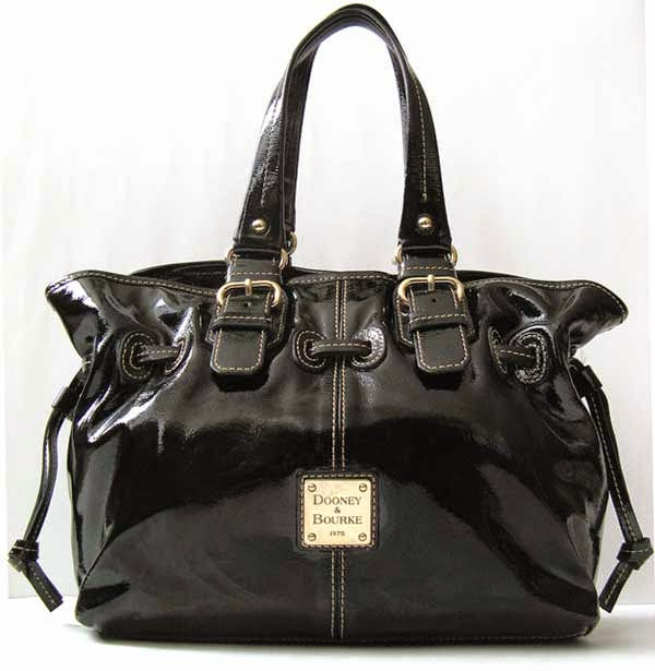 Good closet dooney amp bourke chiara black leather handbag