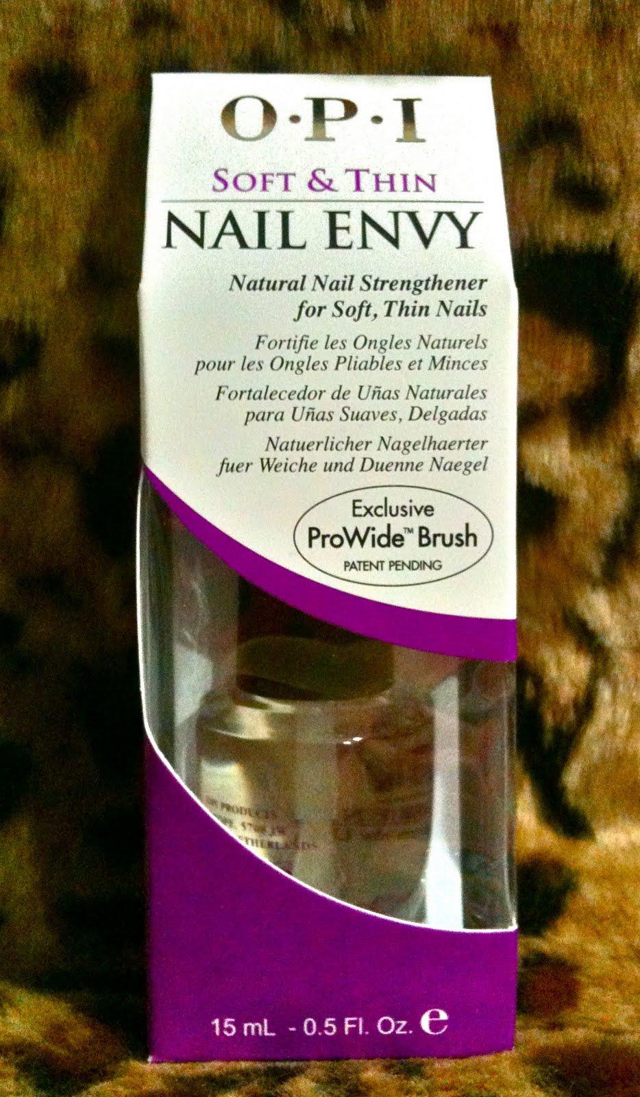 The Clover Beauty Inn: Review: O.P.I Nail Envy Natural Nail ...