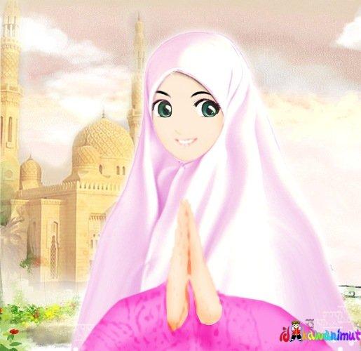 CUTENYE GAMBAR KARTUN MUSLIMAH.