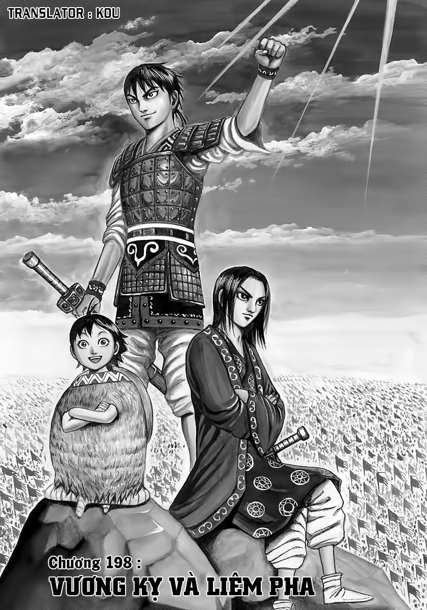 Kingdom - Vương Giả Thiên Hạ Chapter 198 page 3 - IZTruyenTranh.com