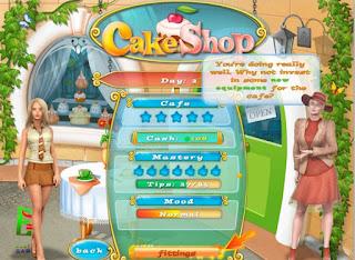 Permainan memasak cake &;cake shop&;
