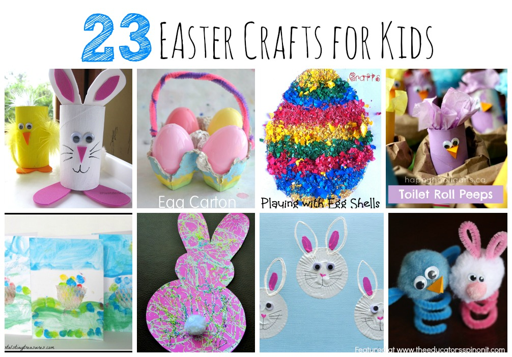 The educators 39 spin on it 101 easter crafts and easter for Easter crafts for elementary students