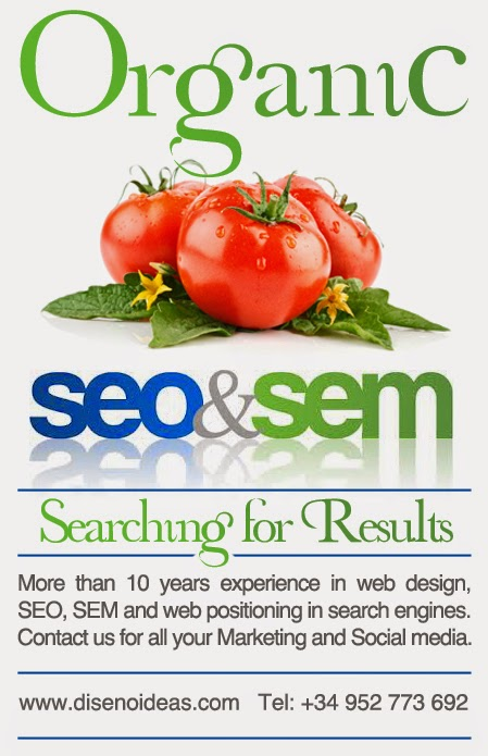 Organic web positioning - Seo and Sem - Searching for Results - Optimization Marbella