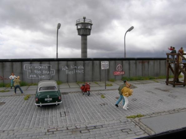 Le mur de Berlin au 1/87