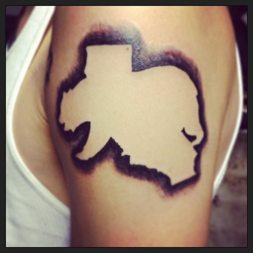 Outline California Bear And State Map Tattoo Bear Flag Museum