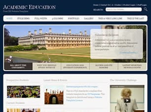 web templates | education web template