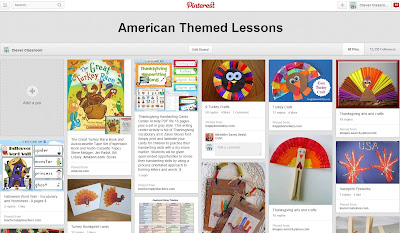 American Themed Lessons Pinterest board Clever Classroom