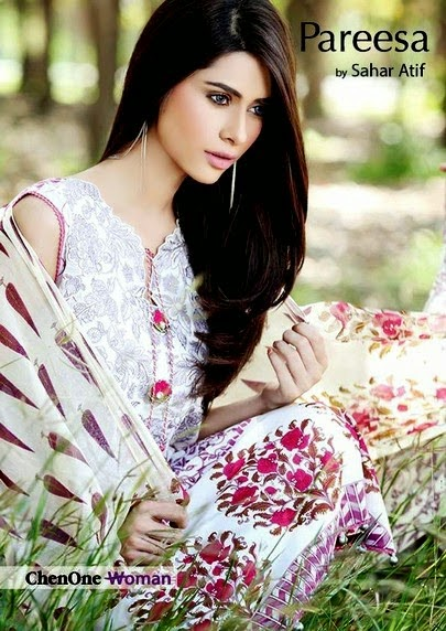 Pareesa Lawn Prints Vol-2 by Sahar Atif
