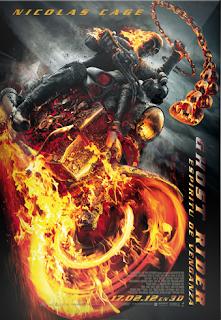 Carátula Ghost Rider 2 película dvdrip castellano