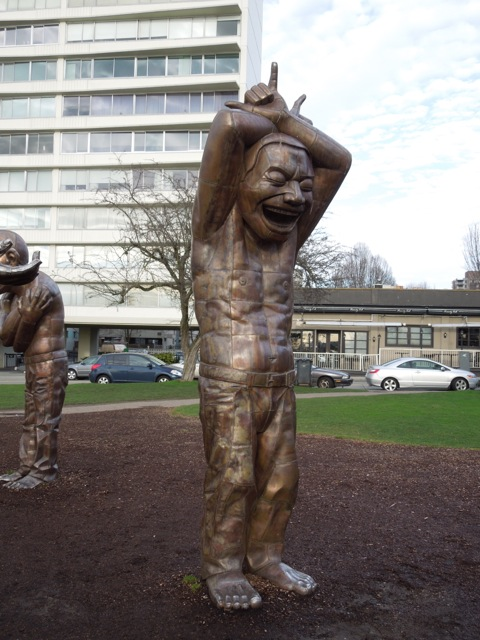 A-maze-ing Laughter statue