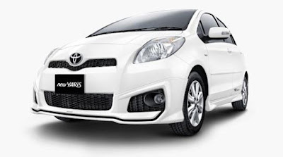 Harga Toyota New Yaris Facelift 2012