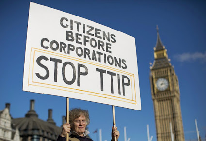 Contra o TTIP (Acordo de Parceria Transatlântica de Comércio e Investimento ou APT )