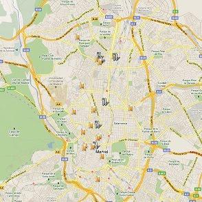 Mapa de Veniz a Madriz