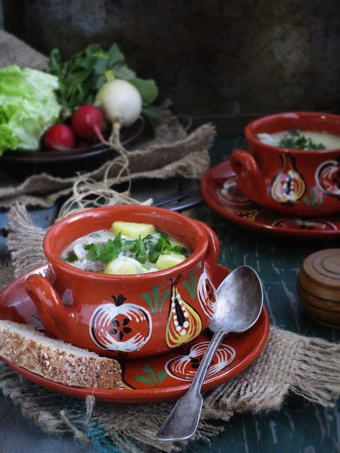 Супа от пилешки воденички
