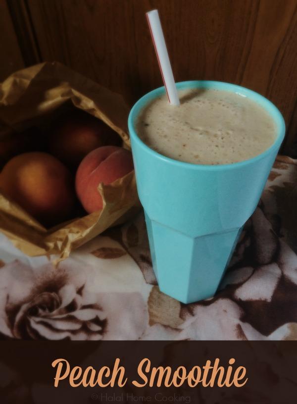 peach and banana smoothie recipe