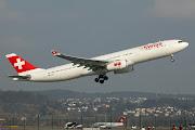 So sind schon zehn A330 der Version 300 in der Flotte. (swiss international air lines airbus hb jhj net)