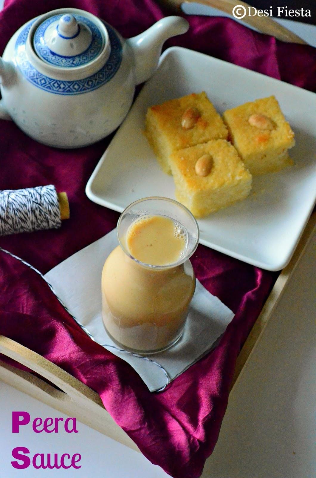 Basbousa pudding