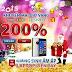 iOnline khuyến mãi 200% hôm nay quà siêu khủng mừng Giáng Sinh