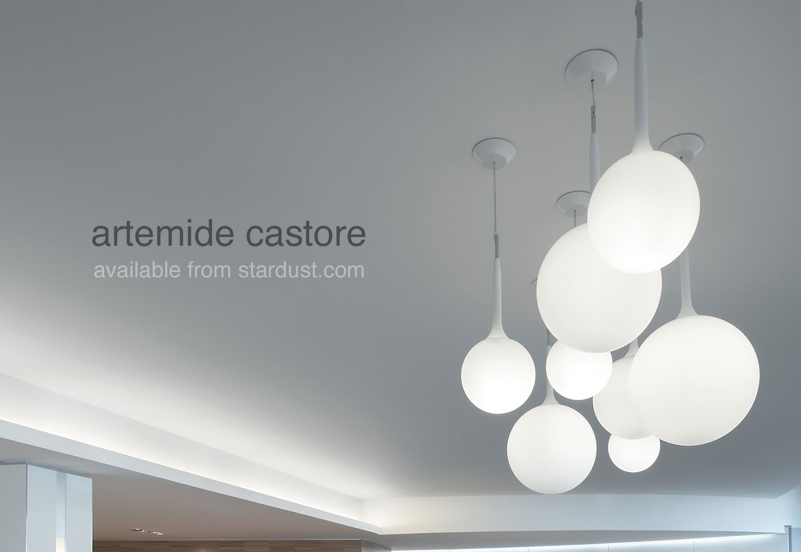 castore glass ball pendant light fixture in opal white glass with white ceiling canopy ball pendant lighting