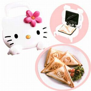 Hello Kitty kitchen toastie maker