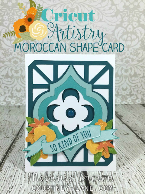 moroccan card