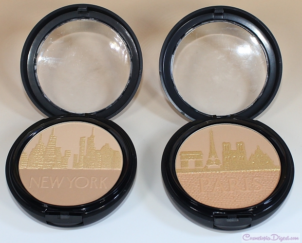Physician's Formula Spring 2015 City Glow Bronzers review, swatches