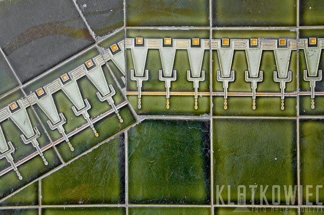 Gdańsk: ozdobne kafle z Dolnego Miasta