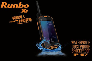 Runbo X5, Smartphone Android Kaya Fitur