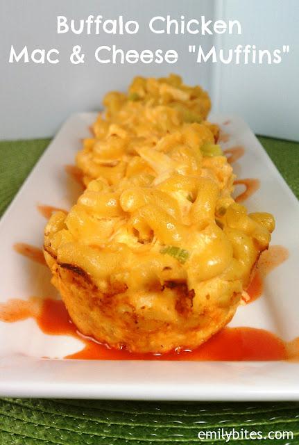 "Buffalo Chicken Mac & Cheese ""Muffins"" | Pinnutty.com"