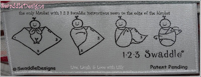 SwaddleDesigns 123 Tag