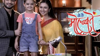 Yeh Hai Mohabbatein 12th September 2015