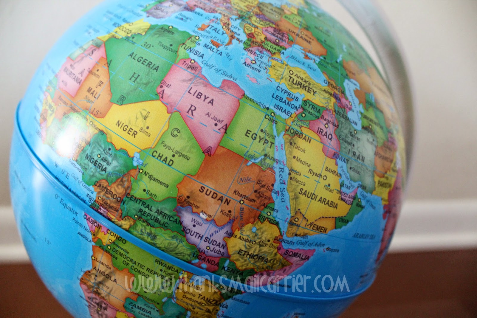 child's globe