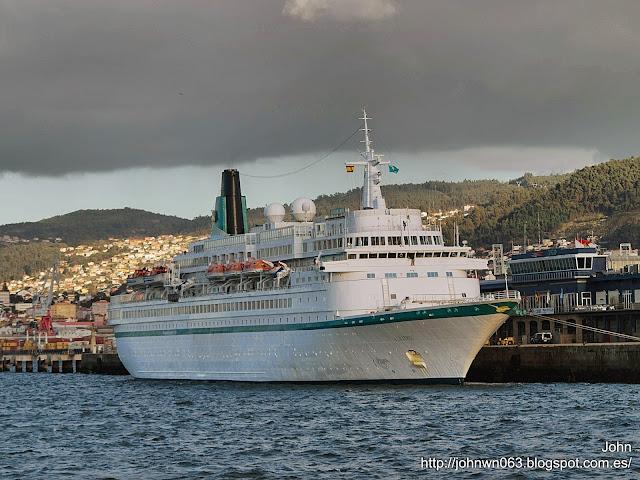 fotos de barcos, imagenes de barcos, albatros, crucero, vigo