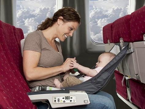FlyeBaby Infant Travel Seat