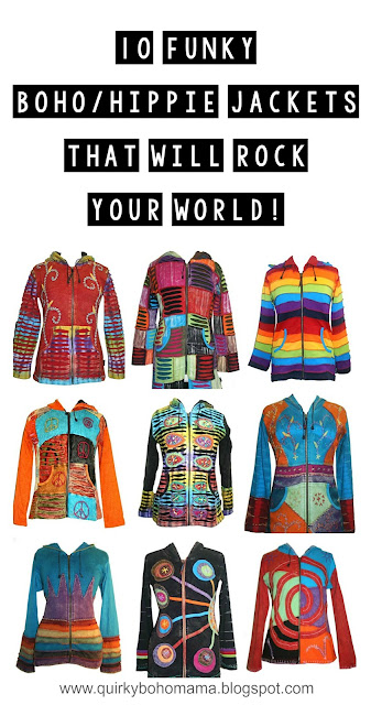 10 Funky Boho/Hippie Jackets that Will Rock Your World! {Agan Traders, winter #boho #hippie fashion}