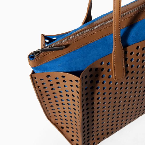perforated large shopper (2) | Zara