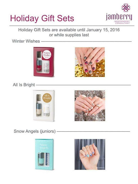 Jamberry holiday gift sets