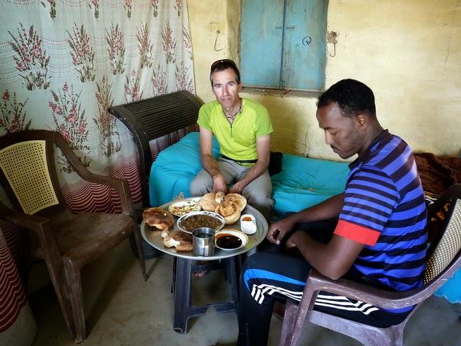 Hospitalidad sudanesa.