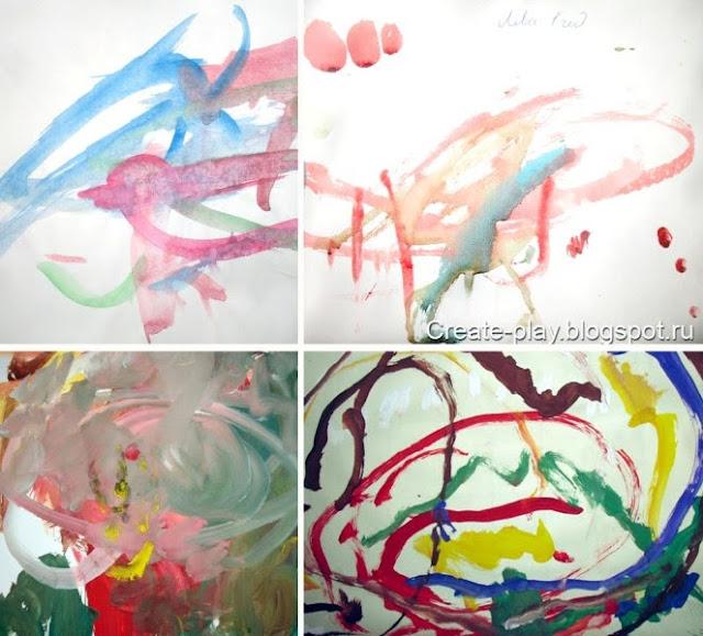 рисунки малышей